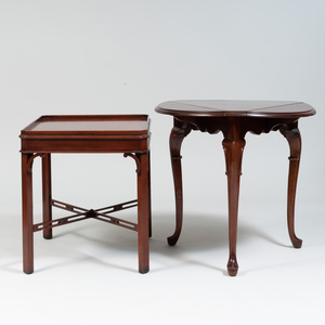Two Mahogany Side Tables, of Recent Manufacturer