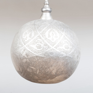 Aluminum Filigree Light Fixture from Terrain