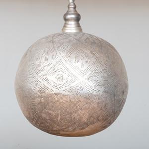 Aluminum Filigree Light Fixture from Terrain