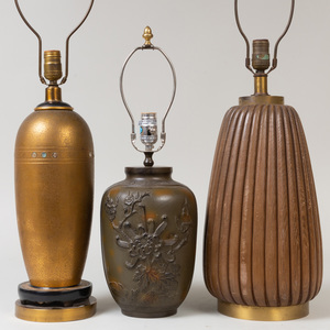 Three Modern Lamps