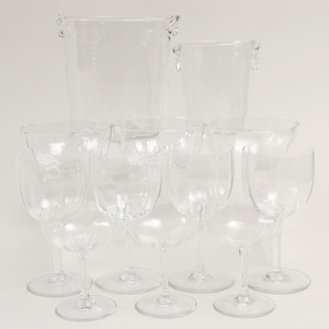 Baccarat Glass Part Stemware Service