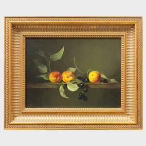 Eleanor Moore (1885-1955): Still Life with Peaches