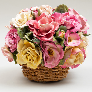 Clare Potter Porcelain Model of Roses