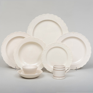 Group of D. Keegan Creamware