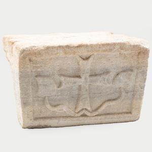 Medieval Carved Limestone Capital