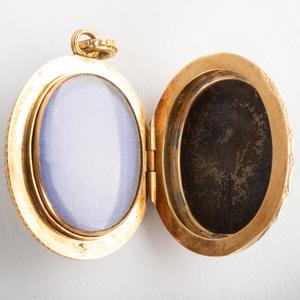 Gold and Enamel Locket