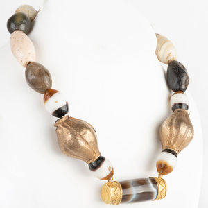 Agate Bead Necklace