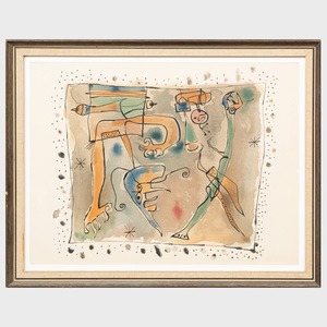 After Joan Miró (1893-1983): Untitled