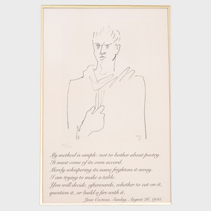 Jean Cocteau (1889-1963): L'Enfant Terrible