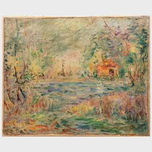 20th Century School: Impressionist Landscape