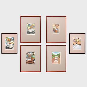 Jürg Matijus Mikiver: Six Works