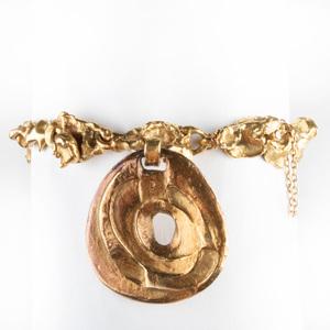 22k Gold Nugget Bracelet
