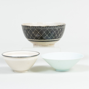 Three Chinese Porcelain Bowls