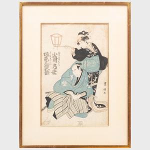 Utagawa Toyokuni (1796-1825): Two Actors