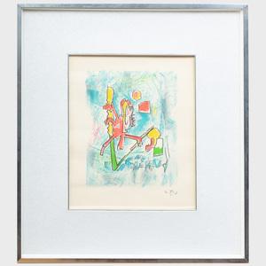 Roberto Matta (1911-2002): Untitled