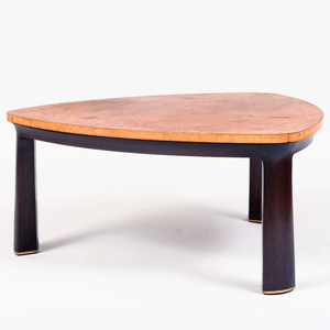 Dunbar Burl Birch Low Table