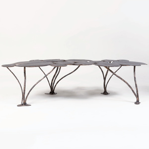 Bronze Lily Pad Low Table, of Recent Manufacture