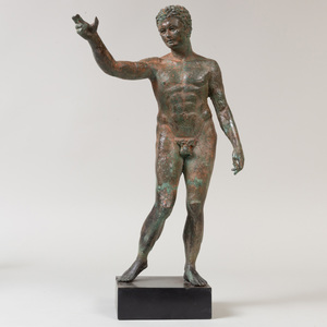 Bronze Figure of a Man, After the Antique