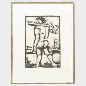Georges Rouault (1871-1958): L'homme debout
