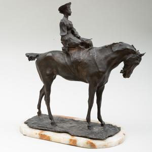 Paul Troubetzkoy (1866-1938): Woman on Horseback