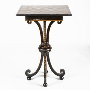 William IV Penwork Games Table