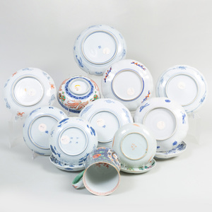 Group of Japanese Porcelain Dishes