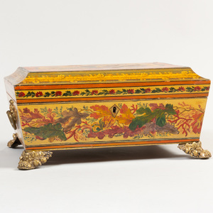 Continental Lacquer Table Casket