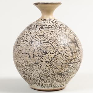 Peg Tootelian Pottery Vase