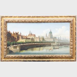 Johann Wilhelm Jankowski (1825-1870): Along the Rhine