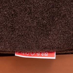 Flexform Leather and Mohair 'Groundpiece' Sofa, Designed by Antonio Citterio