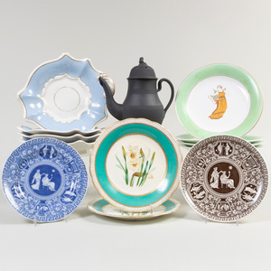 Group of English and Continental Ceramics