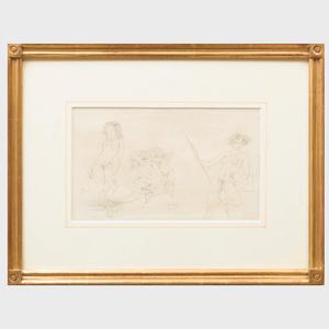 Jules Pascin (1885-1930): Flora, Venus, Amor, Diana