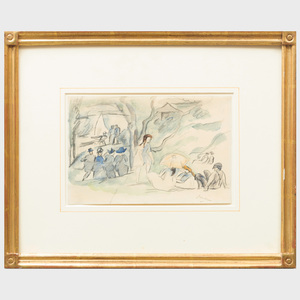 Jules Pascin (1885-1930): Untitled
