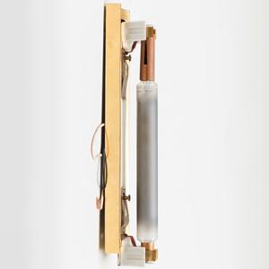 Jean Perzel Style Brass Wall Sconce