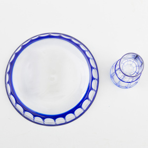 Otto Prutscher Small Cordial Glass and Tray