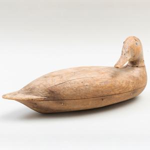 Mallard Duck Decoy by Robert Elliston (1814-1915)