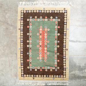 Swedish Tusenkonan Carpet, signed Marta Maas-Fjetterstrom