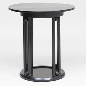 Josef Hoffmann Ebonized 'Cafe Fledermaus' Table, by J. & J. Kohn