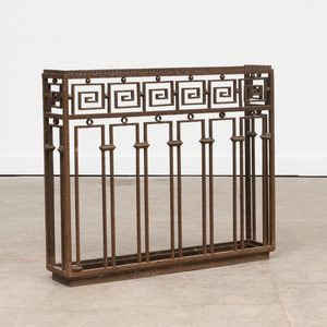 Paul Kiss Wrought Iron Umbrella Stand