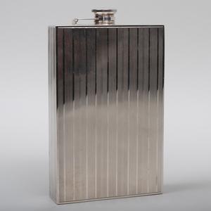 Akron & Co. Silver Flask