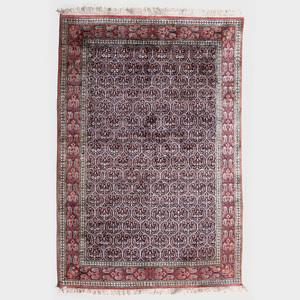Persian Silk Rug, Ghom
