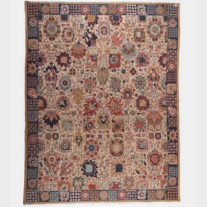 German Tetex Vorwerk Persian-Style Carpet