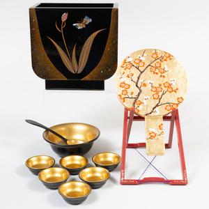 Japanese Wajima Nuri Lacquer Vase