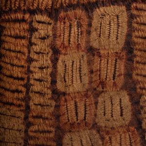 Ivory Coast Tie-Dyed Raffia Skirt, Dida Culture