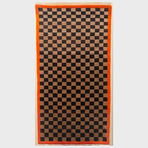 Tibetan Checkerboard  Rug