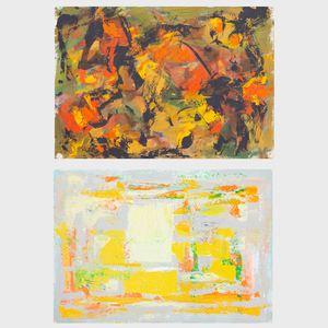Murray Hantman (1904-1999): Untitled; and Untitled