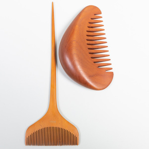 Two Japanese Wood Combs