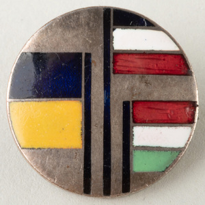 Wiener Werkstätte Enamel Pin