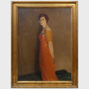 Glyn Warren Philpot (1884-1937): Portrait of Isabel Stimson McBirney