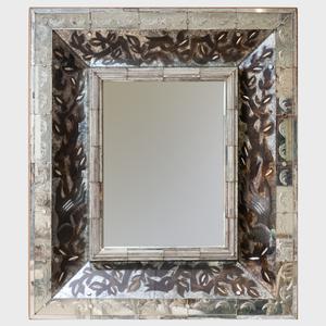 French Art Deco Verre Églomisé Mirror
